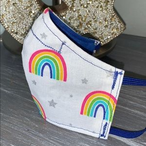 Accessories - Rainbows and Stars Teen  Face Mask